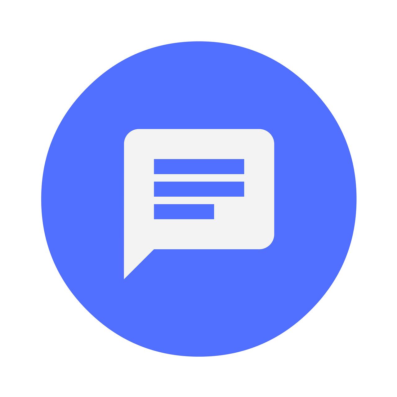 icon, feedback, message